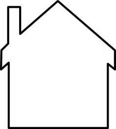 house outline clipart house outline
