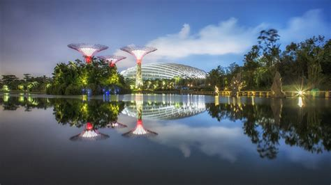 The Bay by Supertree Grove Gardens By The Bay 擎天樹叢 濱海灣花園 Est100