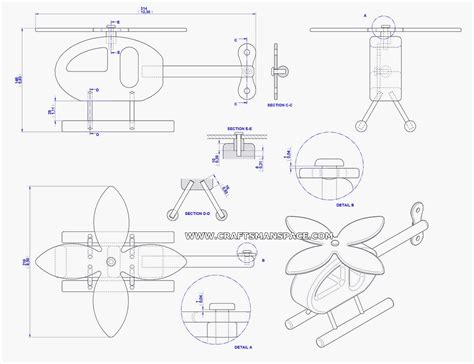 lucky helicopter toy plan
