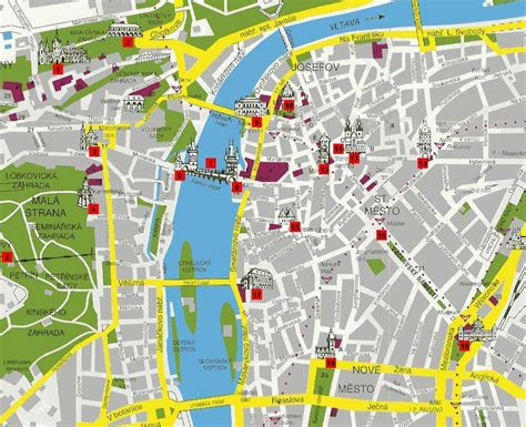 printable map prague large prague maps for free download and print high