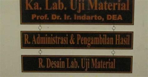 Tempat Tisue Acrylic Akrilik 04 papan nama akrilik pesanan laboratorium d3 teknik sipil