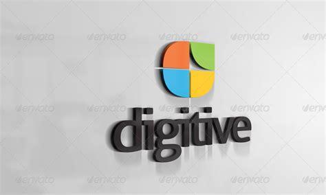 3D Logo Mockups V.3 by CodeID   GraphicRiver