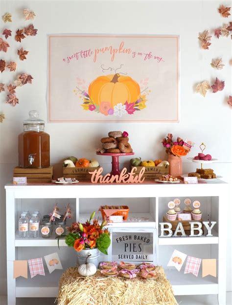 Ideas For Fall Baby Shower by Kara S Ideas Pumpkin Fall Baby Shower Kara