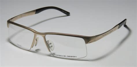 porsche design glasses titanium new porsche design 8166 titanium brand name premium