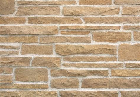 split sandstone brick clad