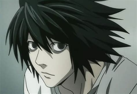 L Anime by Post A Anime Boy With Black Hair And Maybe Pale Skin
