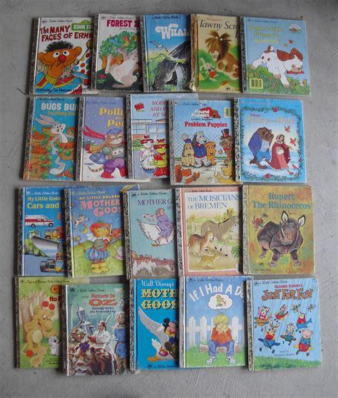 vintage picture books lot of 20 vintage 1960s 90s golden books childrens