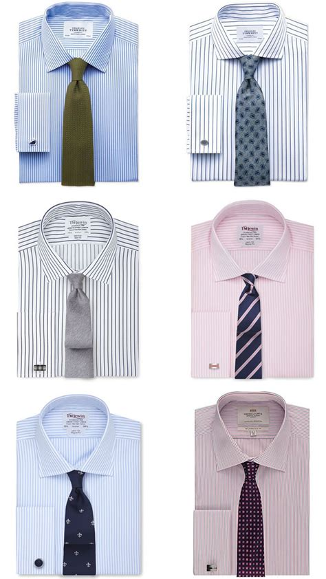 matching striped ties with striped shirt a guide to men s shirt tie combinations fashionbeans