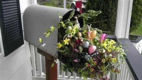 Easter Porch Decor by 30 Cool Easter Porch D 233 Cor Ideas Digsdigs