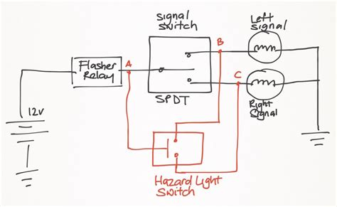 hazard light wiring diagram free wiring