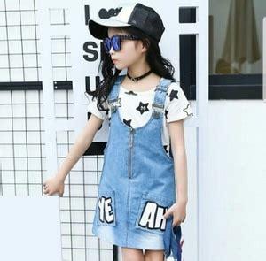 Baju Anak Perempuan Setelan Pendek Anak Perempuan Fish 1 baju dress pendek anak perempuan bahan denim cantik modern