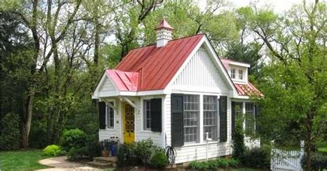 honey i shrunk the house metal concrete and wood with a honey i shrunk the house small house with red metal roof