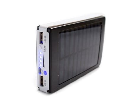 Lu Cing Solar Powerbank save 65 on the go green 50 000mah solar power bank geeky gadgets