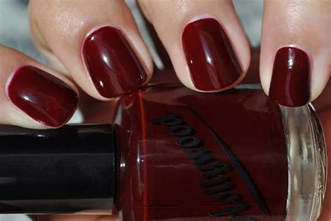 blood red paint red nail polish best brands dark bright glitter