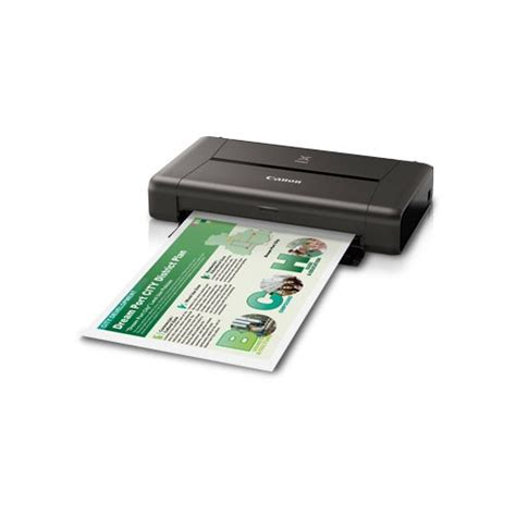 Printer Berwarna jual canon pixma ip110 portable wifi printer inkjet berwarna dengan battery beli di