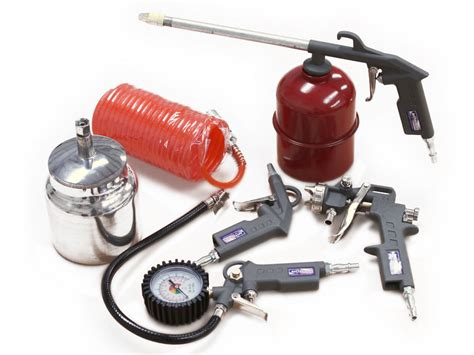 jefferson 5 air compressor tool accessories kit spray gun genuine product ebay