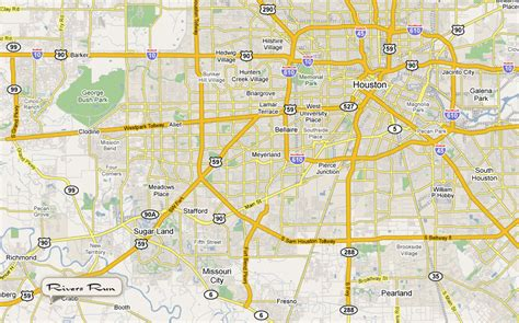 richmond texas map city of richmond texas images