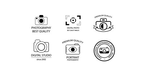 photography logos templates photo studio logo templates free vector and png the