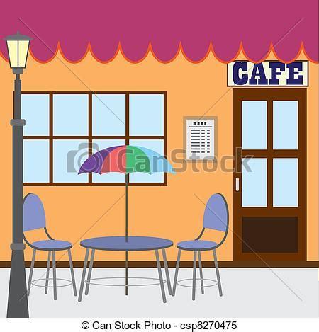 clipart caffè cliparty wektorowe zewnątrz kawiarnia sklep st 243 ł i