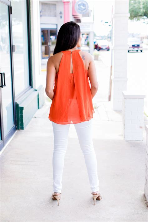 Tips For Wearing Orange by Tips To Wearing Bright Orange Positively Beautiful