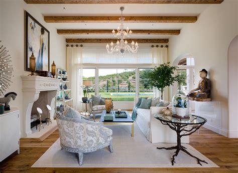 cooler tones living room interior design in rancho santa