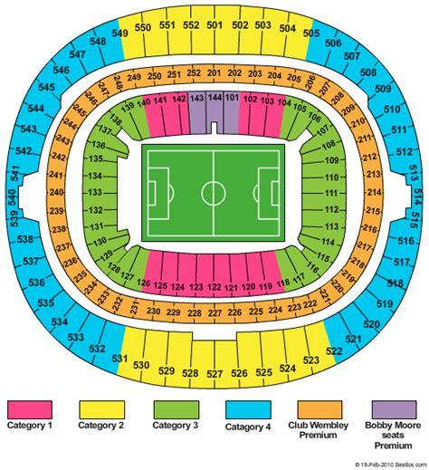 Wembley Stadium Floor Plan Wembley Arena Seating