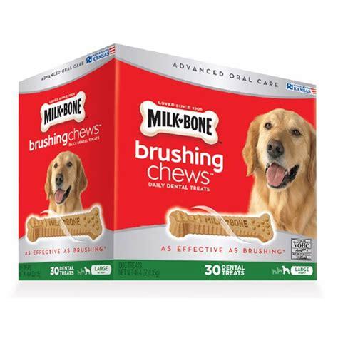 milk bone brushing chews daily dental treat milk bone brushing chews daily dental treats 30 ct bj