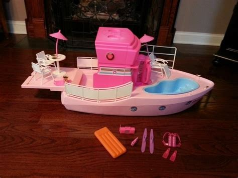 barbie and boat barbie dream boat 1992 it even had a blender to make your
