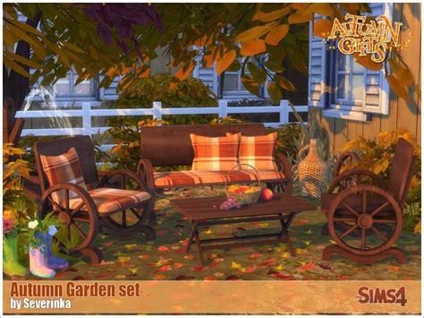 Garden Bench Seat Cushions Severinka S Autumn Garden