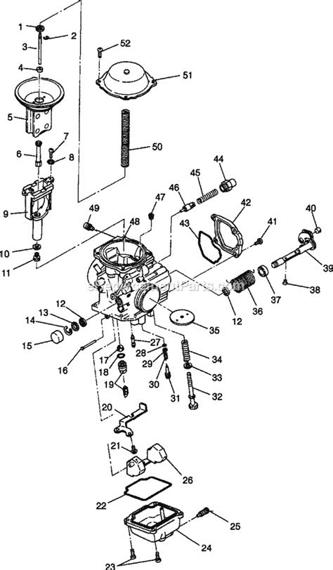 polaris sportsman carburetor diagram wiring diagrams