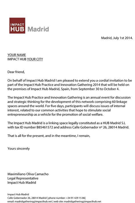 formal letter request to invite a friend for dinner visa invitation letter to a friend exle desktopvisa
