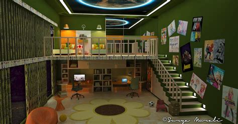 for two my world in three dimensions two level room