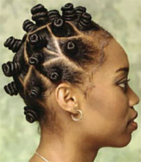 Knot Hairstyle by Bantu Knots Hair