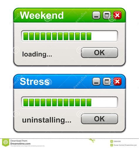 Computer Windows Weekend Loading Stress Uninstalling Stock