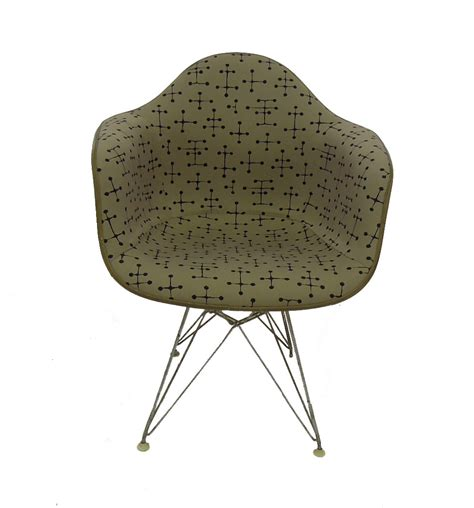 eames dot pattern history reupholstering an eames chair mid century