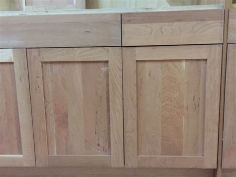 kitchen cabinet unfinished unfinished natural american cherry shaker kitchen cabinets