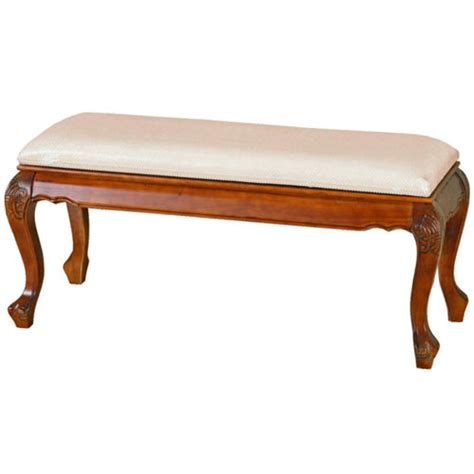 how to make a padded bench seat carved bed bench with padded seat at brookstone buy now