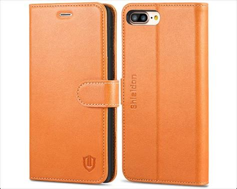 best iphone 8 plus folio cases vintage design with rich craftsmanship
