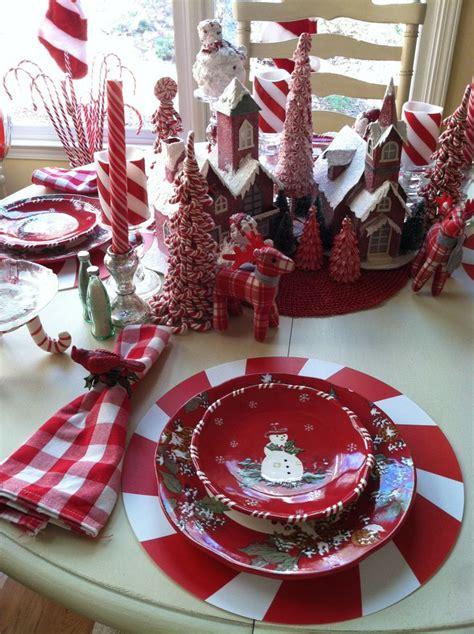 christmas table decorations santa cruet set christmas day
