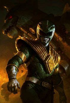 power rangers painting power rangers on fan the originals and