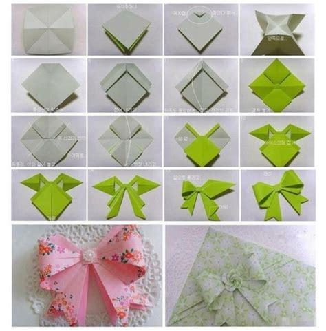 Make Paper Ribbon - 怎样用纸折蝴蝶结 百度知道
