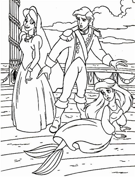 ariel ursula coloring pages ursula little mermaid coloring pages 289545