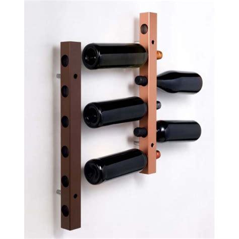 porta bottiglie da parete portabottiglie acciaio design da parete