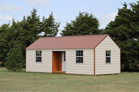 log siding okc cabins ok structures portable buildings