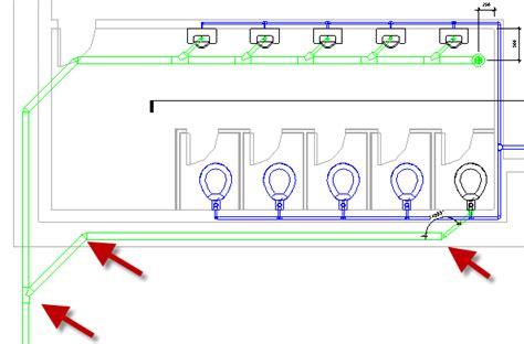 revit mep tutorial creating drain route cadnotes