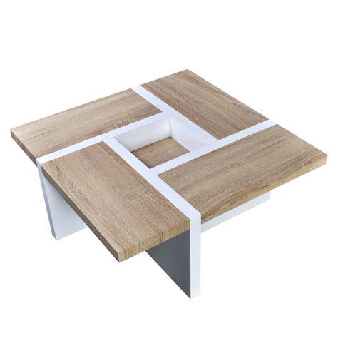 coffee table high gloss oak white high gloss coffee table www vidaxl au
