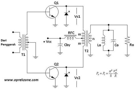 transistor komplementer avoprabu