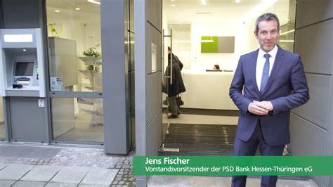 psd bank hessen thüringen jens fischer vorstandsvorsitzender psd bank hessen