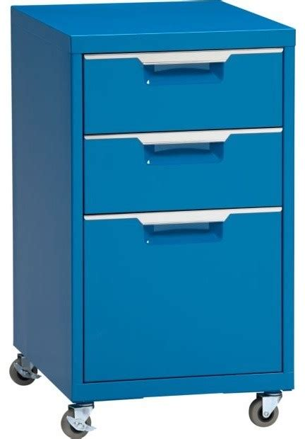 Blue Filing Cabinet by Tps Blue File Cabinet Modern Filing Cabinets By Cb2