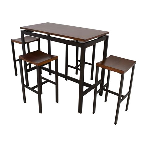 coaster fine furniture 102270 102272 large scale kitchen island set coaster 5 counter height table and chair set coaster 5